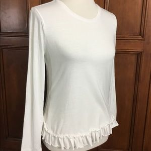 Banana Republic Womens Designer Tee Sz Sm Solid